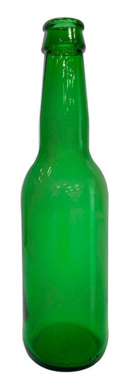 Lasipullo - Vihreä