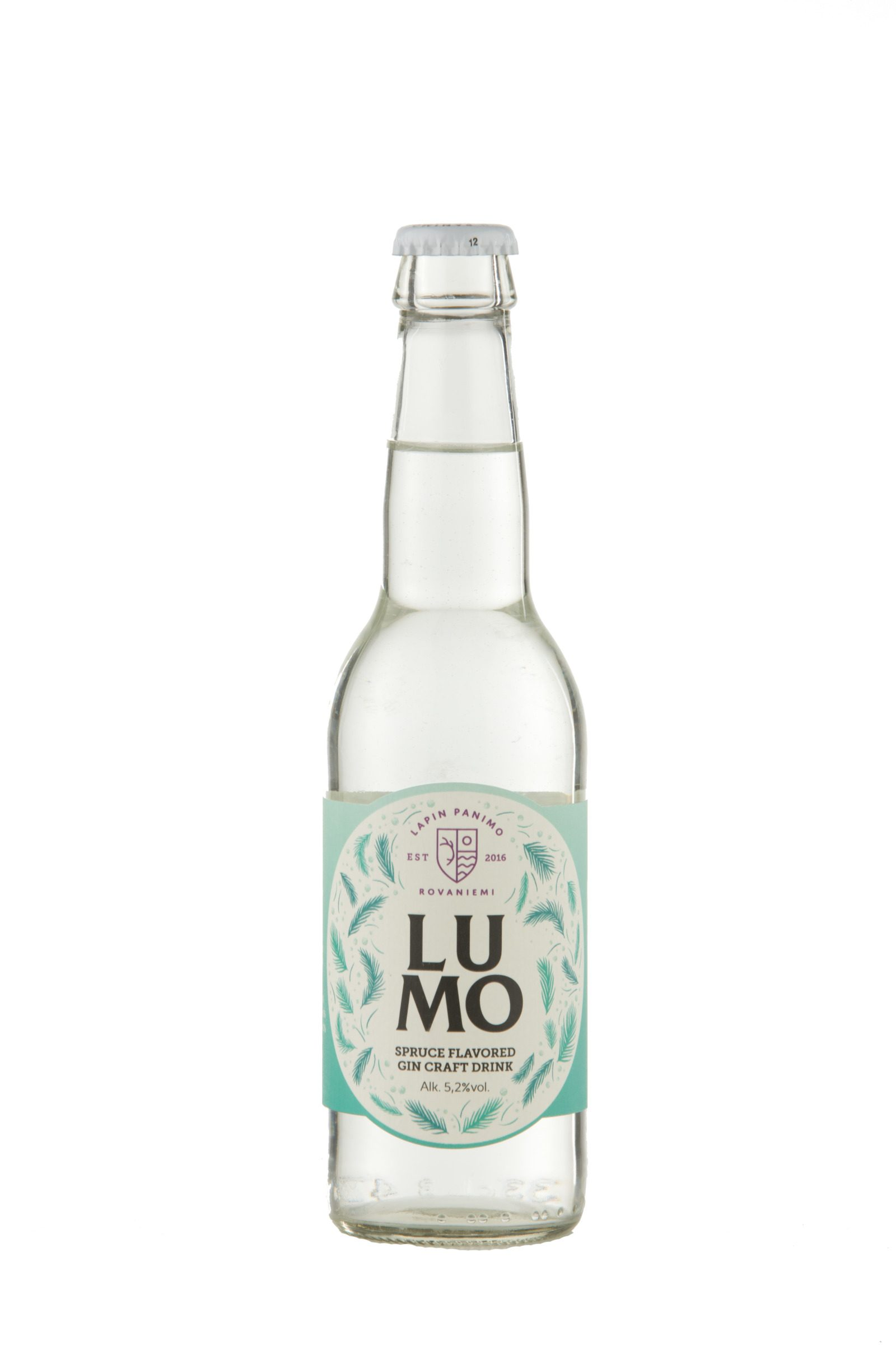 Lumo Spruce flavored GIN Craft Drink
