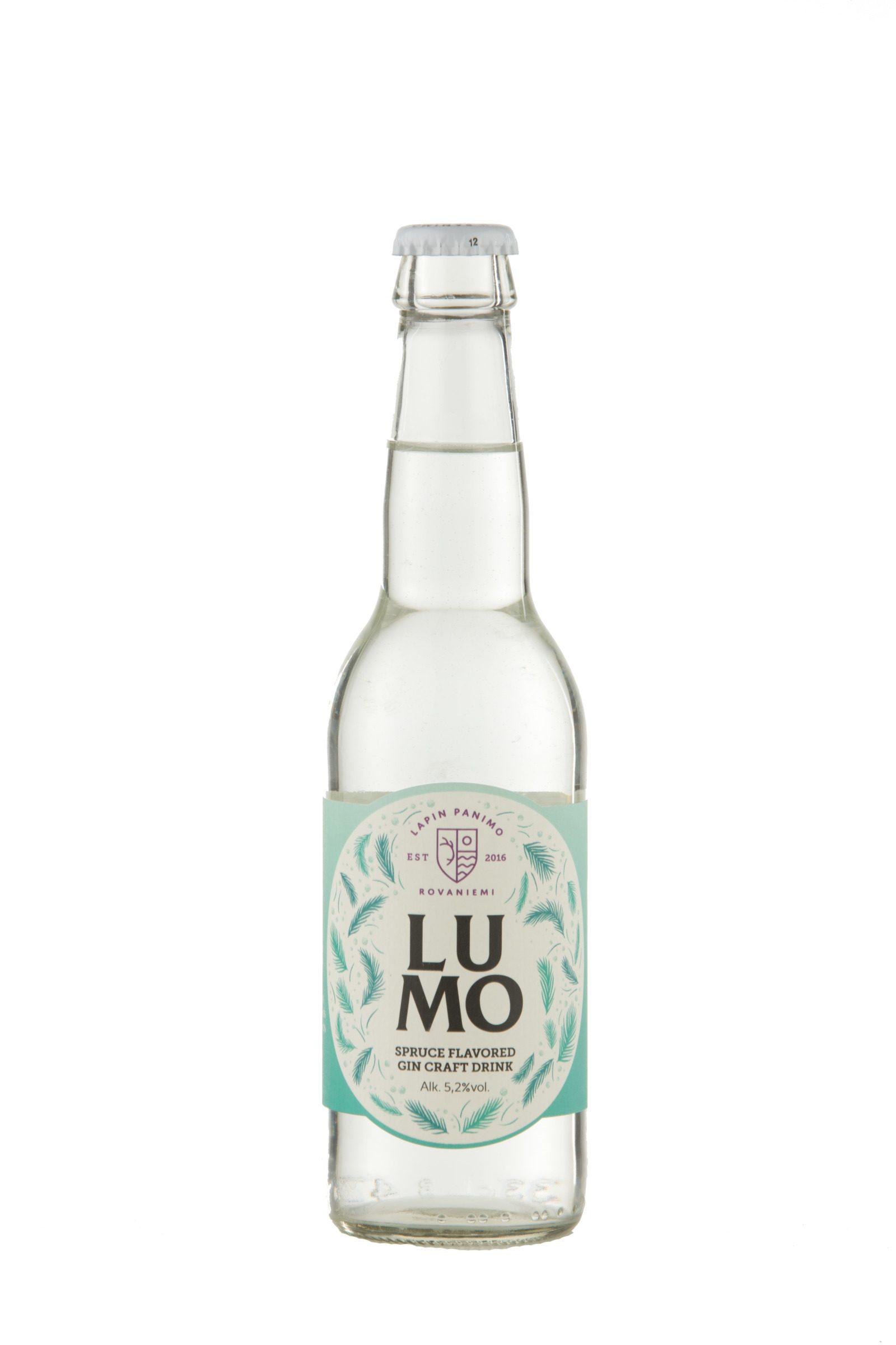 Lumo Spruce flavored GIN Craft Drink