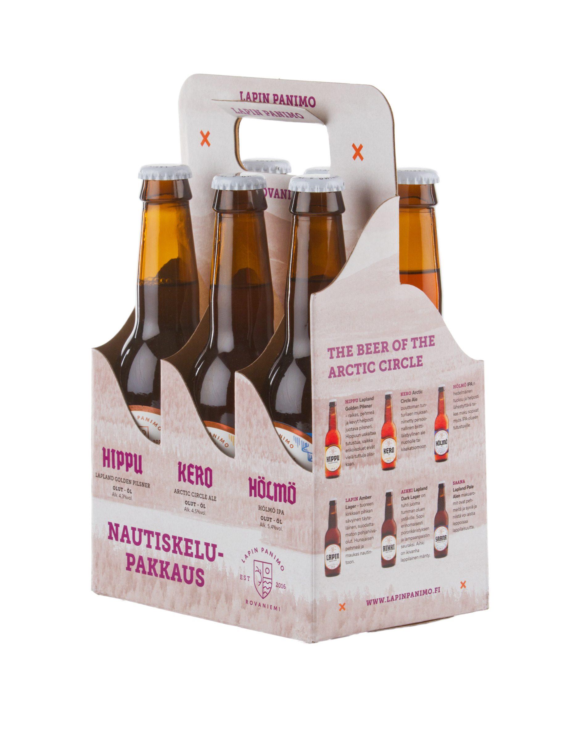 Maistelupakkaus 6 olutta
