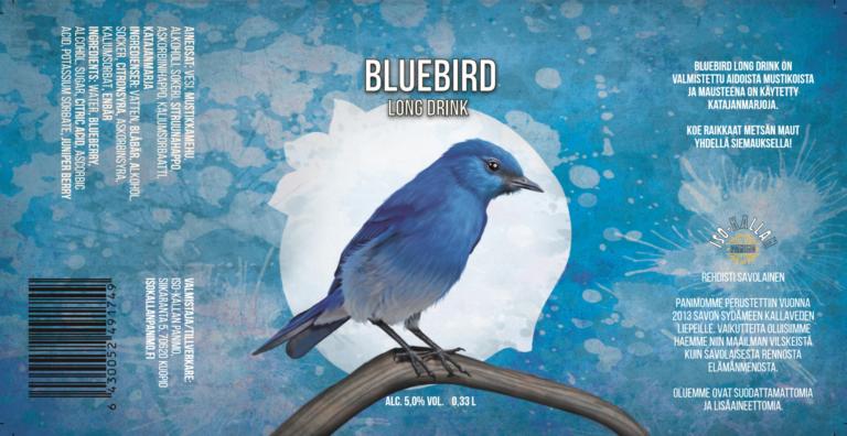 Iso Kallan Panimo - Bluebird Mustikka Long Drink