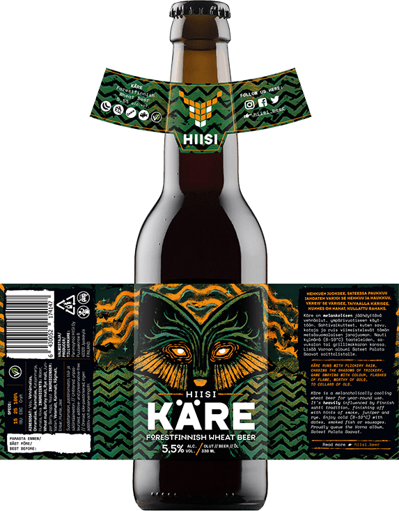 HIISI Panimo - Käre Forestfinnish Wheat Beer