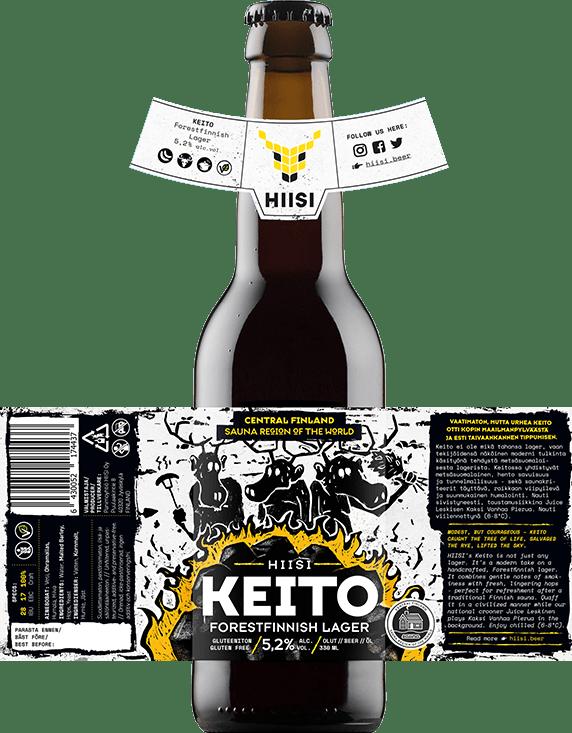 HIISI Panimo - Keito Forestfinnish Lager