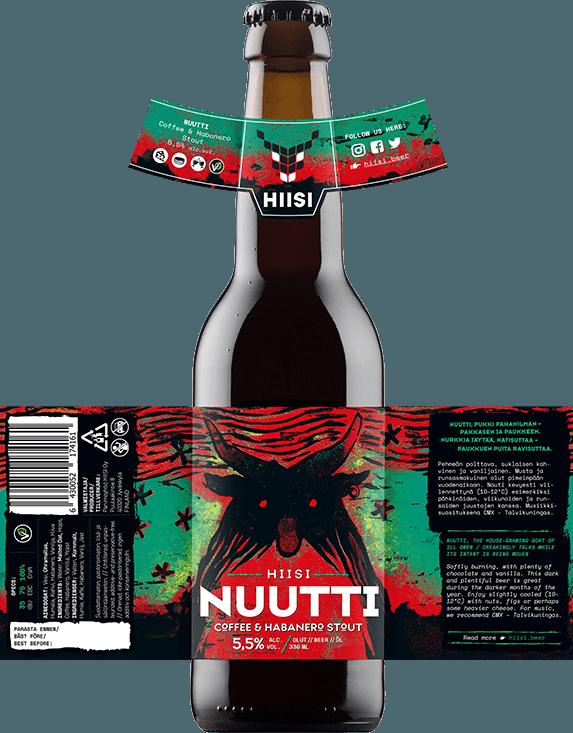 HIISI Panimo - Nuutti Coffee & Habanero Stout