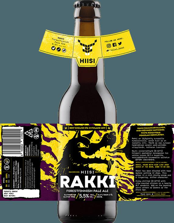 HIISI Panimo - Rakki Forestfinnish Pale Ale