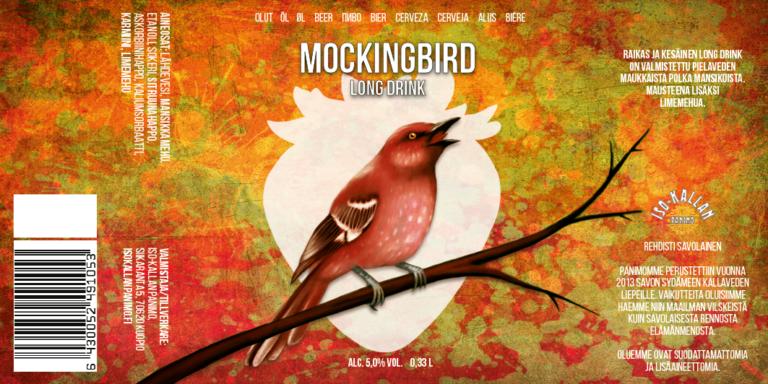 Iso Kallan Panimo - Mockingbird Mansikka Long Drink